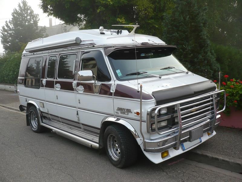 CHEVROLET Chevy Van 20 V8 Rocky Ridge Lipsheim (1)