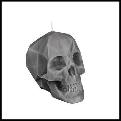 cadeaux folies bougie crâne 2