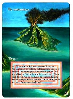 Ile Volcanique Alteration