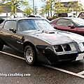 La pontiac trans am 6.6 coupé (rencard burger king septembre 2009)