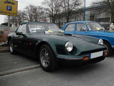 TVR Serie S Convertible 1986 1993 Salon Champenois du Vehicule de Collection de Reims 2010 1
