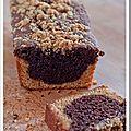Cake chocolat, salidou et streuzel pour un pique-nique parisien