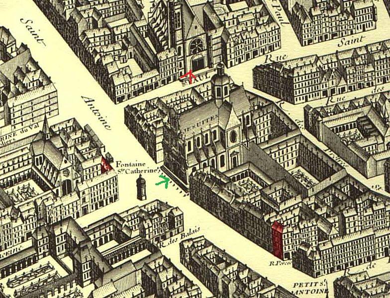 Paris,_quartier_Saint_Antoine Plan Turgot 1740
