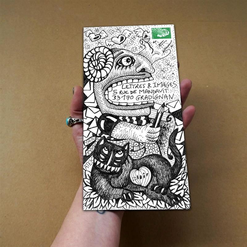ATEK 2021 Frida Kalori by Post pour Association Lettres et Images Gradignan 09