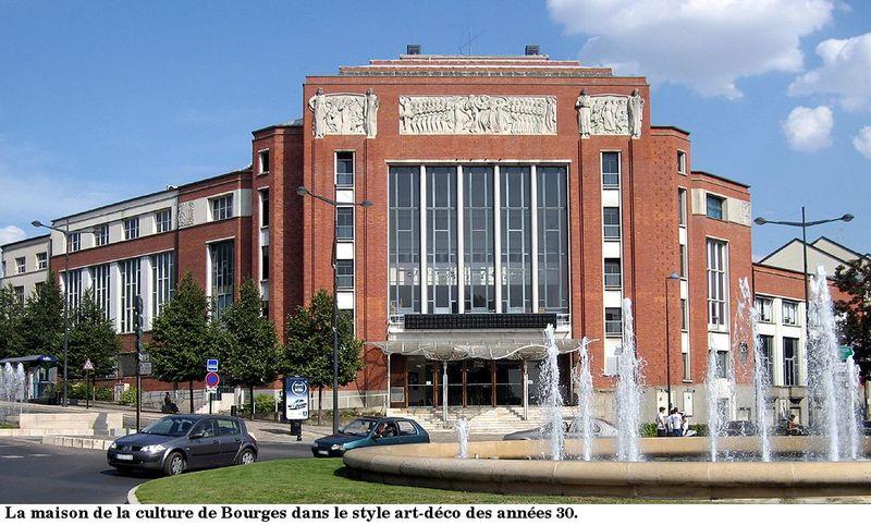 La maison de la culture - Bourges traverse le temps, inoxydable