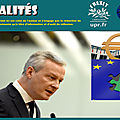 La stabilité de la zone euro «menacée» : bruno le maire s'inquiète du futur gouvernement italien
