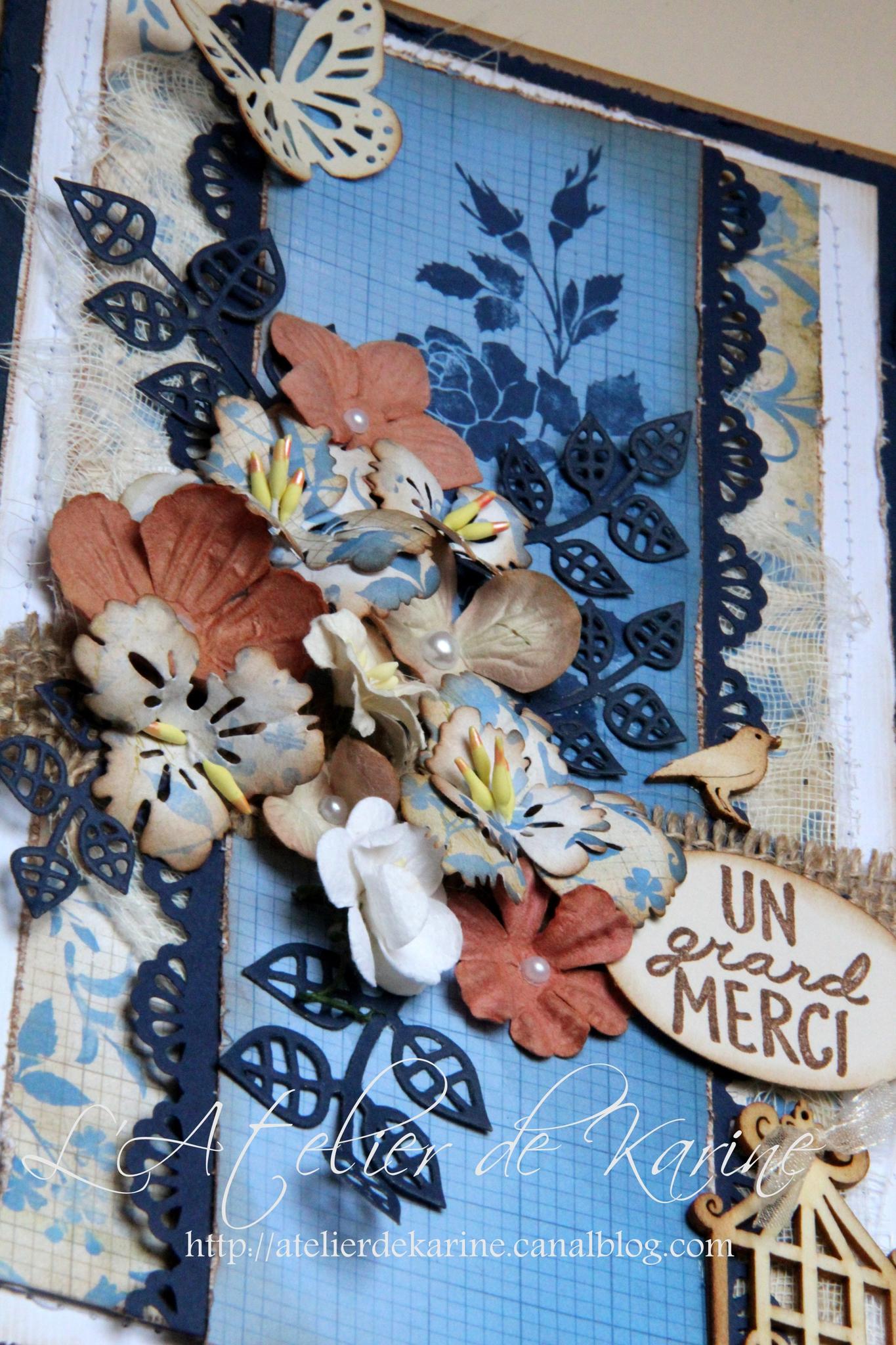 carte shabby bleu 6