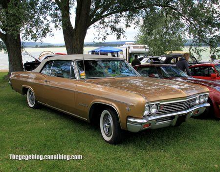 Chevrolet impala SS convertible de 1966 (Retro Meus Auto Madine 2012) 01