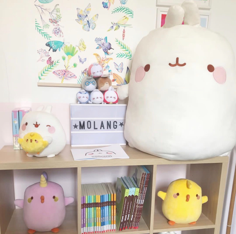 L'univers trop kawai de Molang ©Kid Friendly