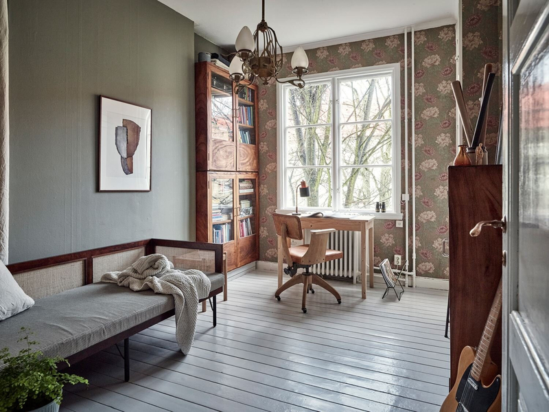 Vintage+Touches+in+a+Beautiful+Scandinavian+Home+-+gfgfffThe+Nordroom