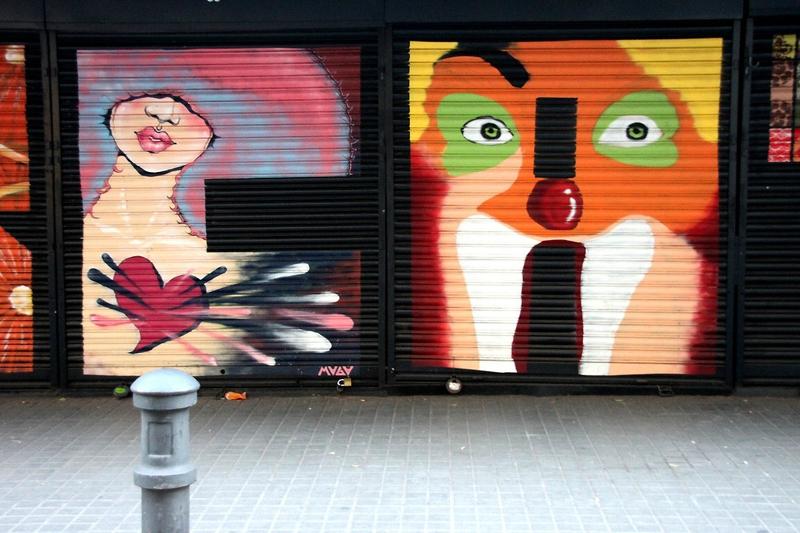 Barcelone, art urbain_5580