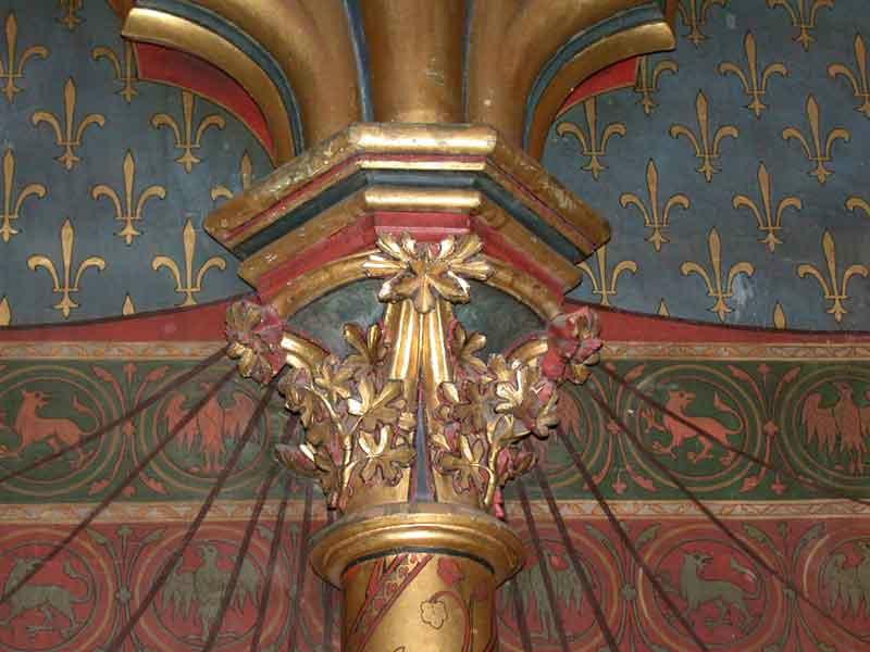 intérieur Ste Chapelle 4