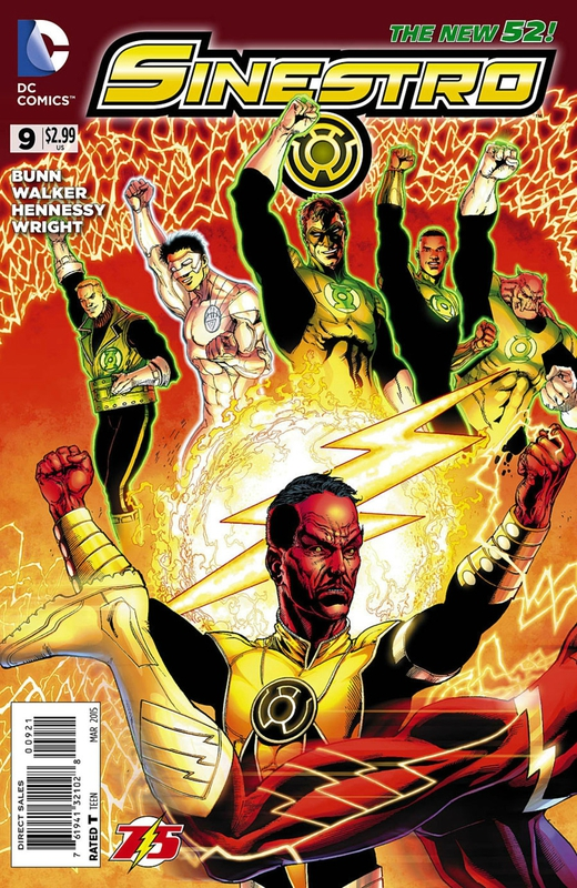new 52 sinestro 09 flash variant