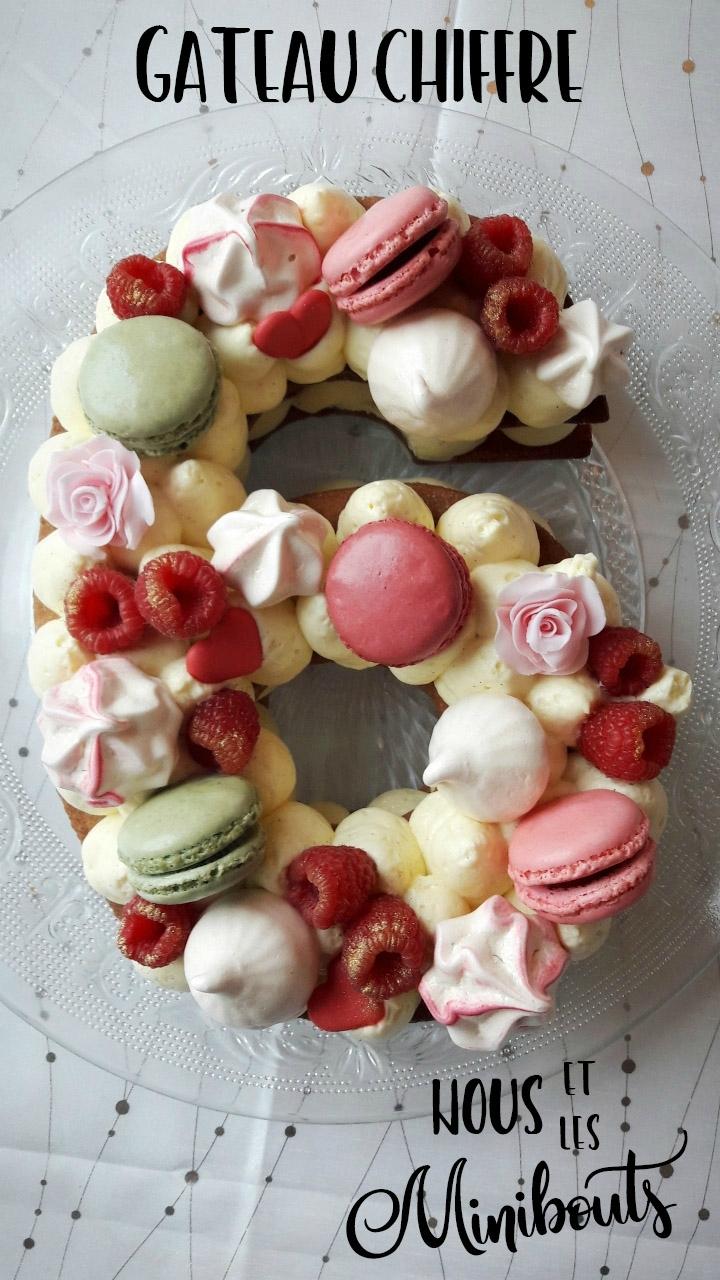 Le gâteau d'anniversaire qui donne ton âge :)
