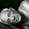 Picasso, cannes, 1955 by jacques-henri lartigue