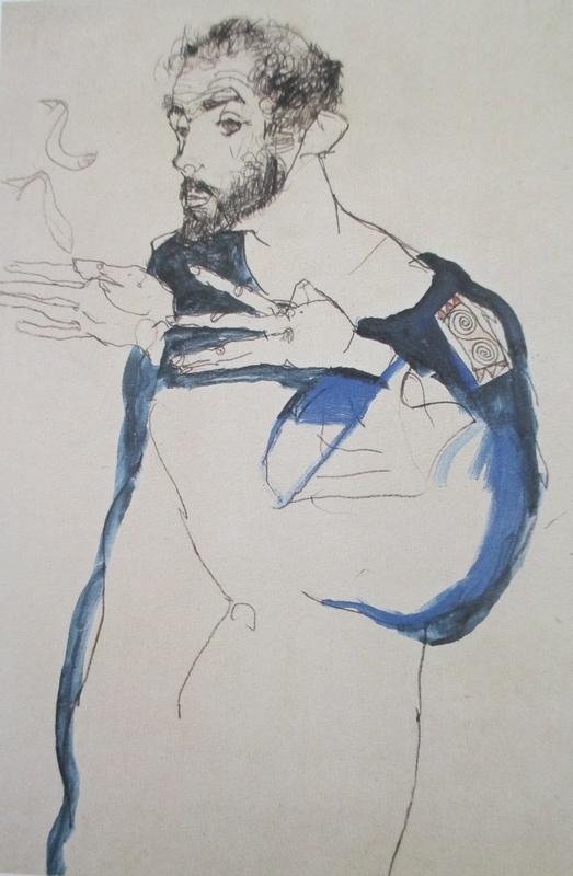 Gustav Klimt par Schiele