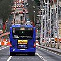 Bus fil bleu : adieux au pont wilson