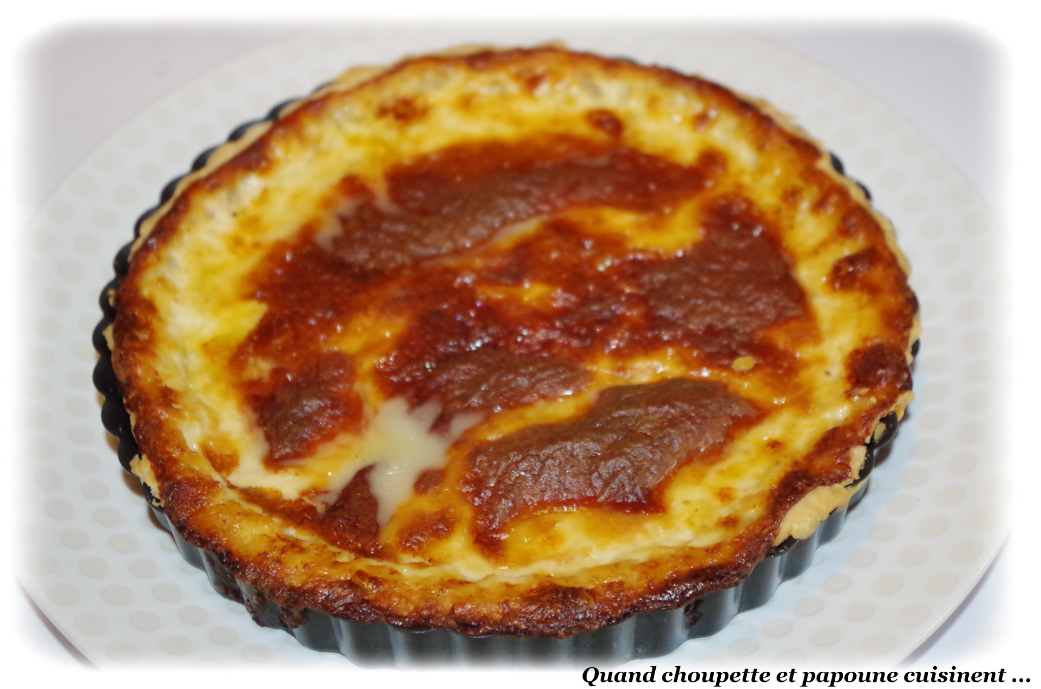 QUICHE AU MUNSTER