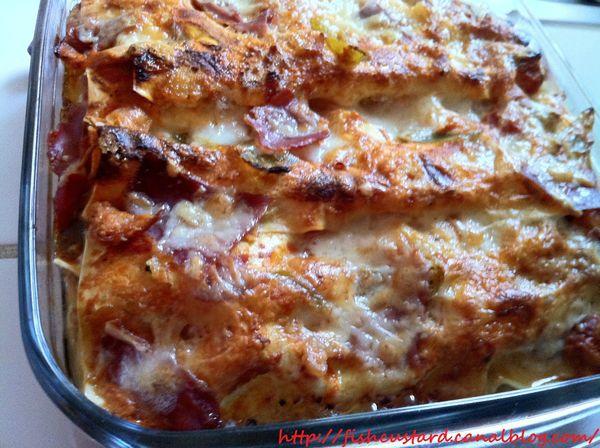Lasagnes basques à la piperade (8)