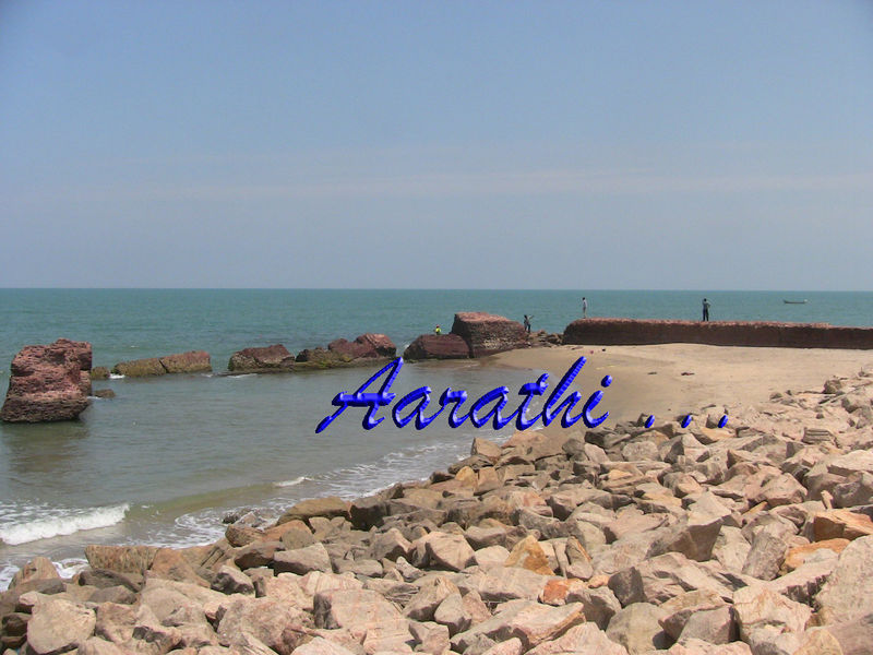 Old Ruined Brick Pier, Tranquebar