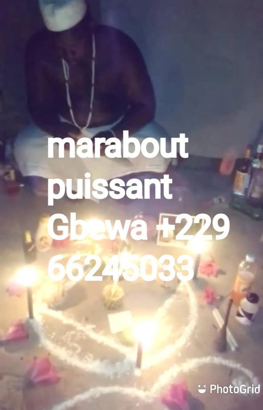 GRAND MAITRE MARABOUT GBEWA