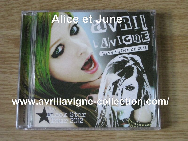 CD The Black Star Tour Live in Osaka 2012-Japon (2012)