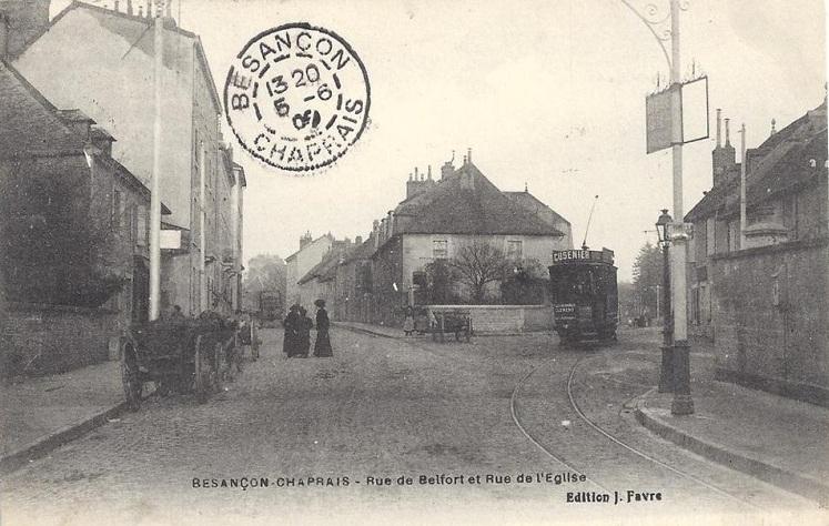rue de l'eglise tram