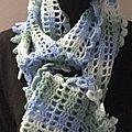 Voici venu le temps des écharpes ... (7) l'echarpe dentelle