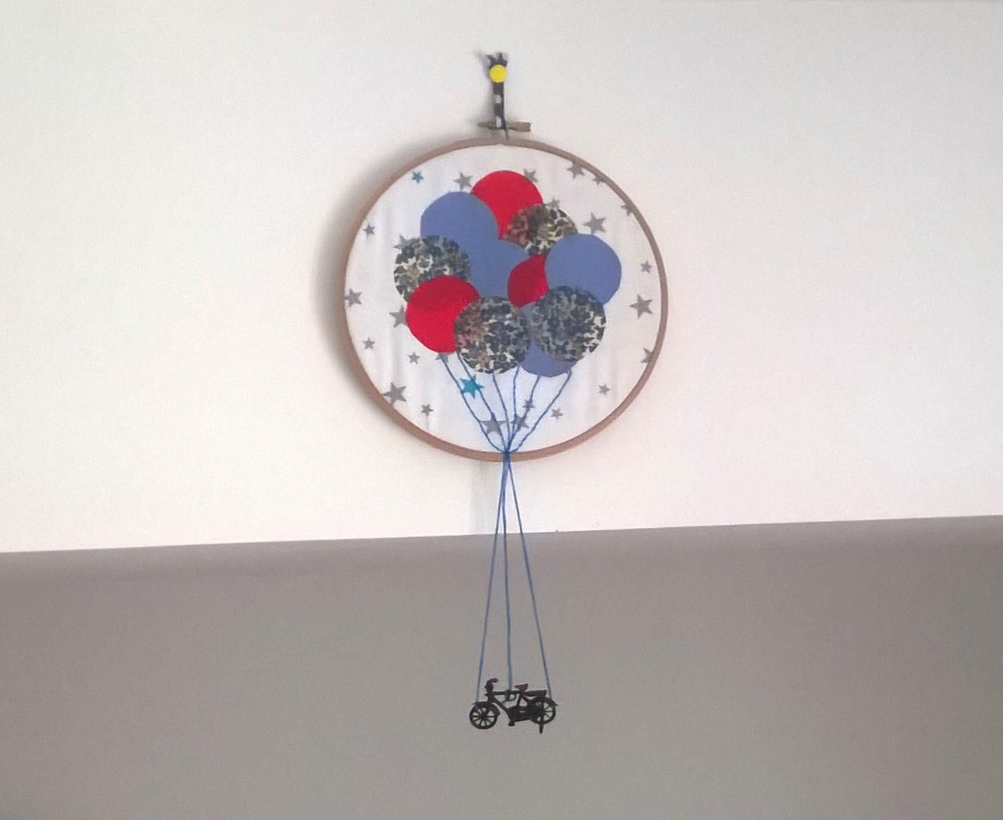 DIY : Le Vélo aux Ballons... pour Créativa Nantes