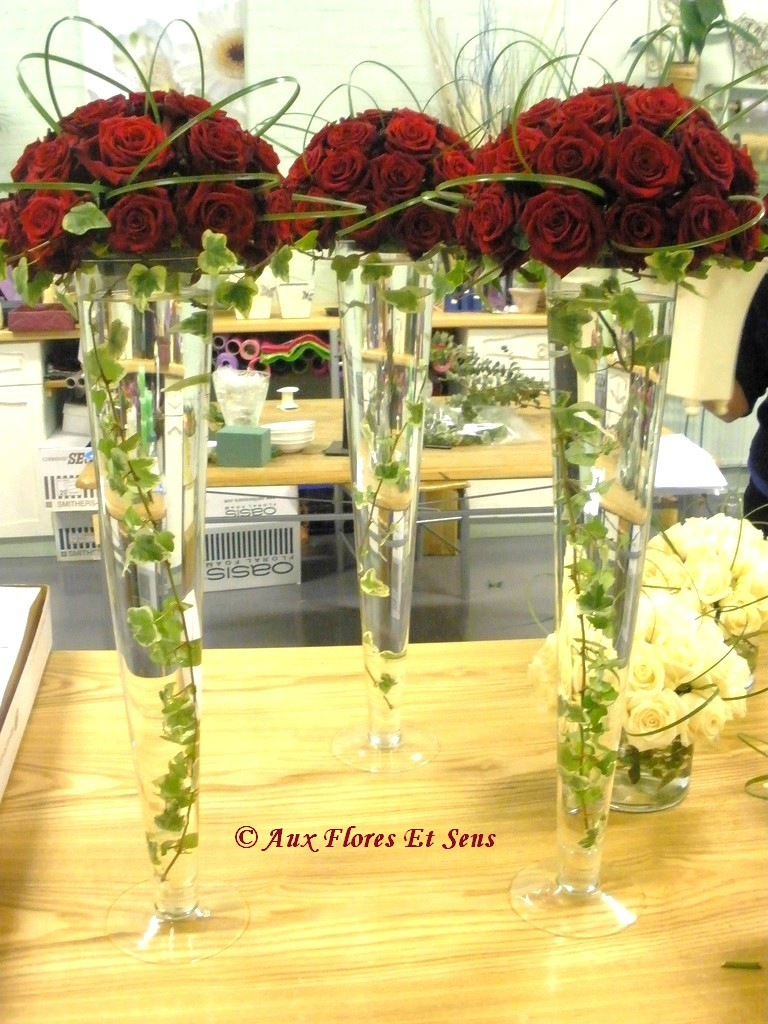 Décor de table Rose & Lierre