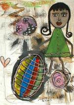 Enfant de la balle 2003 42 x 29
