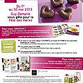Du 1er au 30 mai 2013 encore plus de cadeaux!