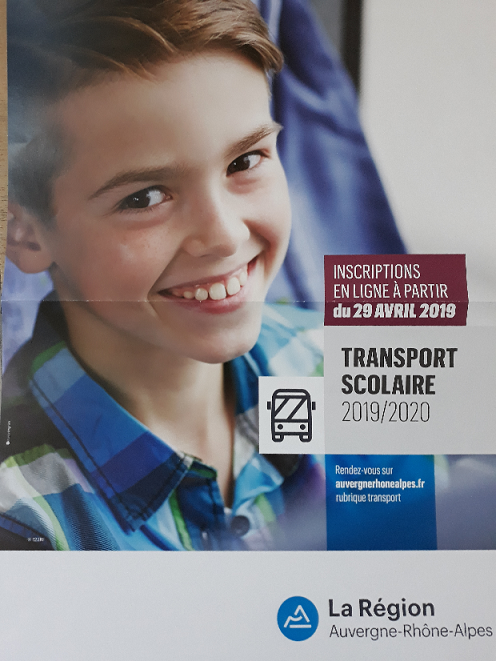 affiche transports scolaires