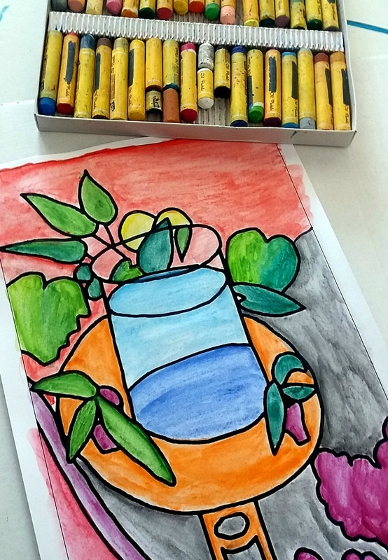 253_Compositions abstraites_Les poissons de Matisse (23)