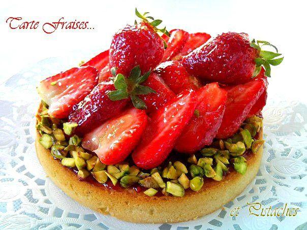 Tarte au fraises et pistaches3