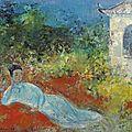 Vu cao dam (vietnamese/french, 1908-2000), rêverie, 1968