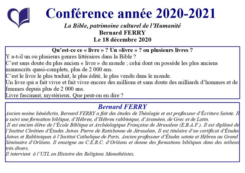 6 - Bernard Ferry