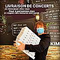 Kim à la maison le samedi 6 juin : pour l'amour de la musique...