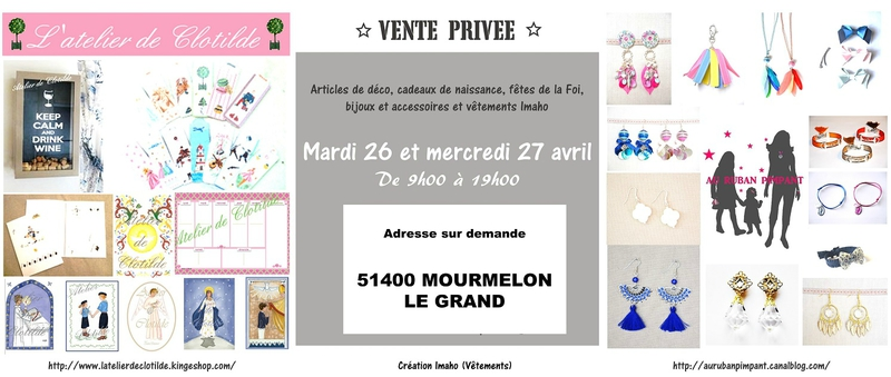 Carton vente MOURMELON Avril 2016