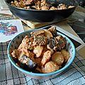 Pâtes à la ricotta et aux aubergines!