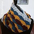 Roselaine Afternoon Delight Quickie Knit Cowl by Marly bird 3