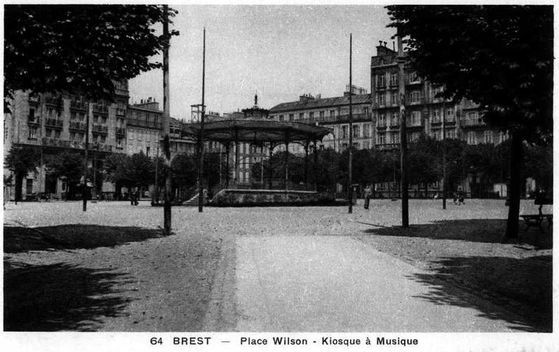 Place Wilson à Brest