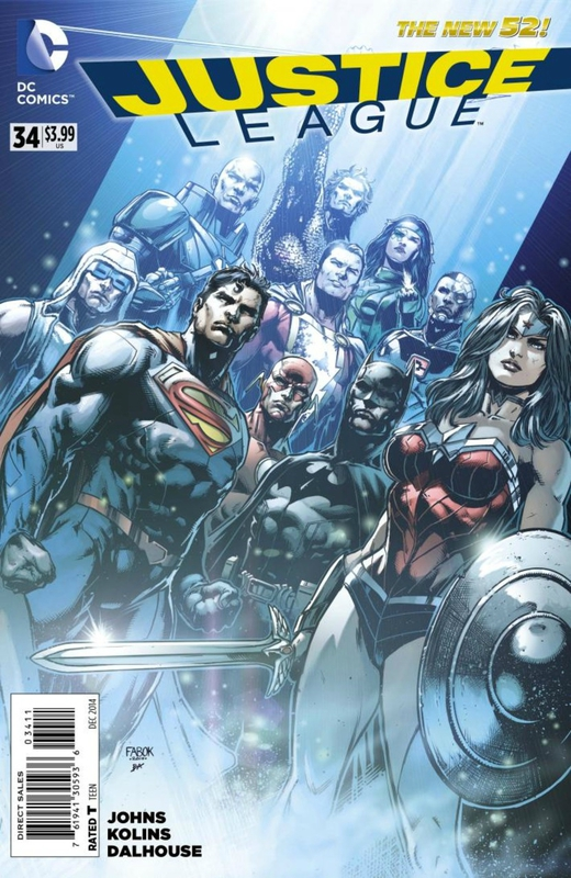 new 52 justice league 34