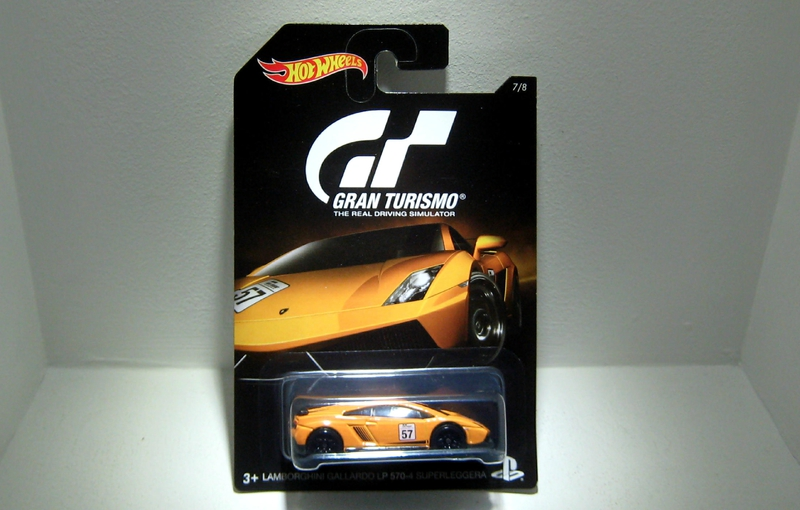 Lamborghini Gallardo LP570-4 Superleggera (Hotwheels 2016)