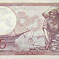 1918-10-04 - Billet de 5 francs verso