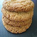 Cookies 100% vanille