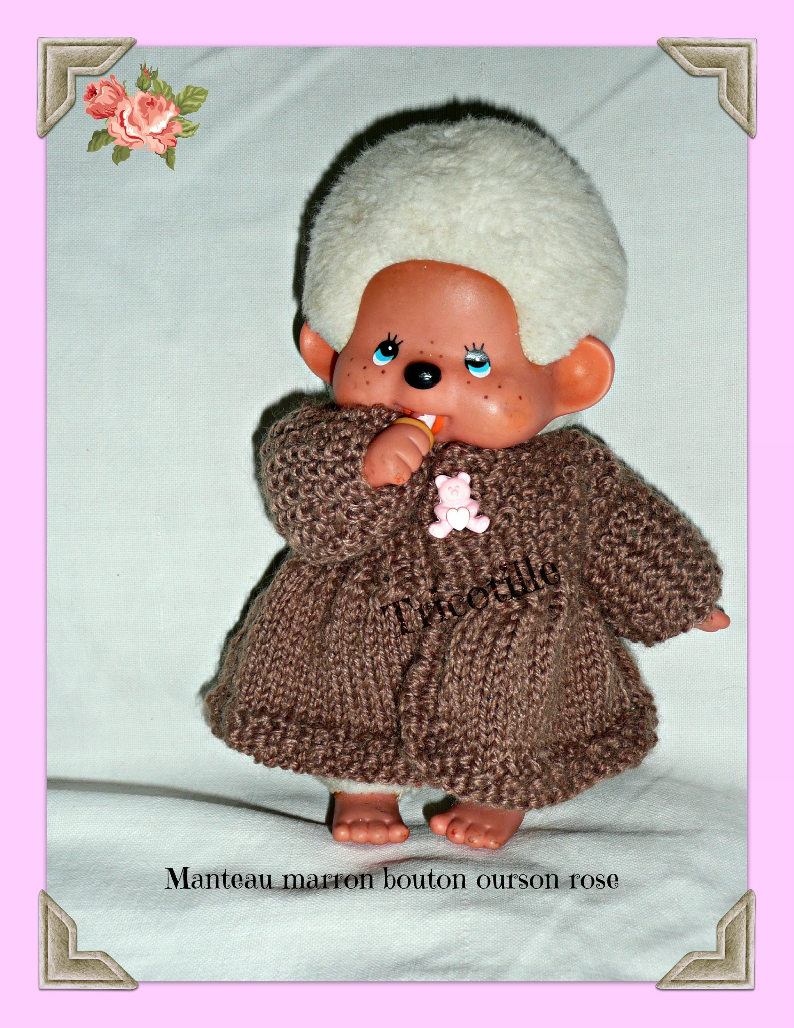 Manteaux pour mini corolline ou kiki (monchichi)