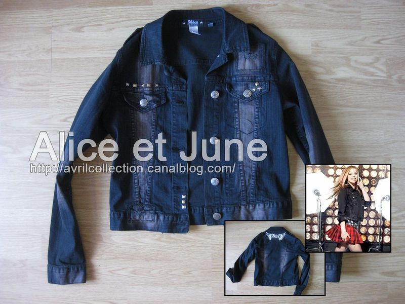 Abbey Dawn Studded Denim Jacket