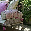 Couture et detente au jardin