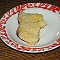 Cake fondant à la noix de coco sans lait ni gluten